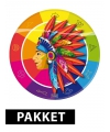Kinderfeest pakket indianen thema
